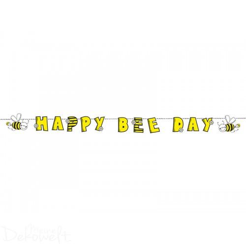 Girlande HAPPY BIRTHDAY Biene 1,53m