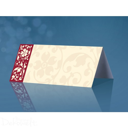25 Tischkarten Hochzeit Geburtstag 10cm x 4cm