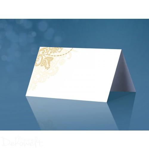 25 Tischkarten Hochzeit Geburtstag 10cm x 4,5cm