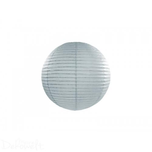 Papierlaterne Grau 20cm Lampion Reispapier