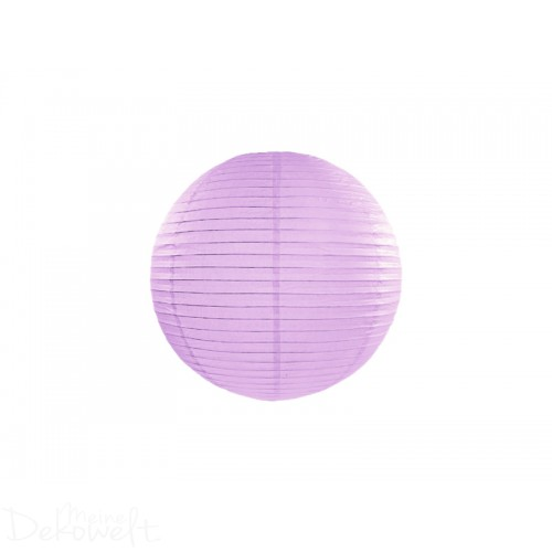 Papierlaterne Lavendel 20cm Lampion Reispapier