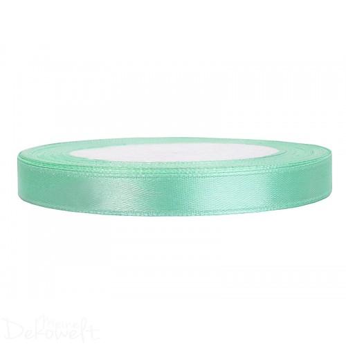 25m x 6mm Satinband Mint