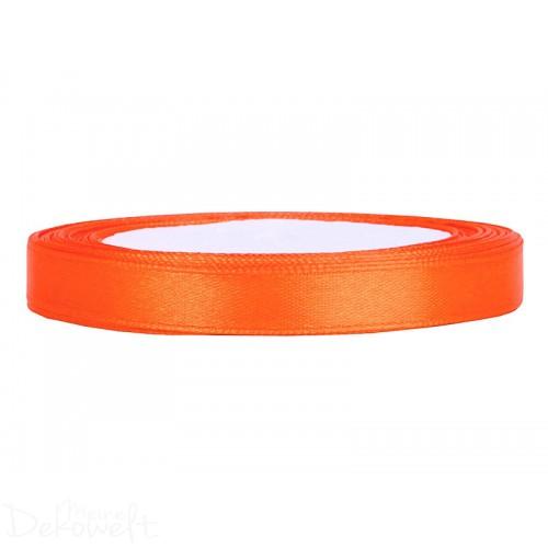 25m x 6mm Satinband Orange