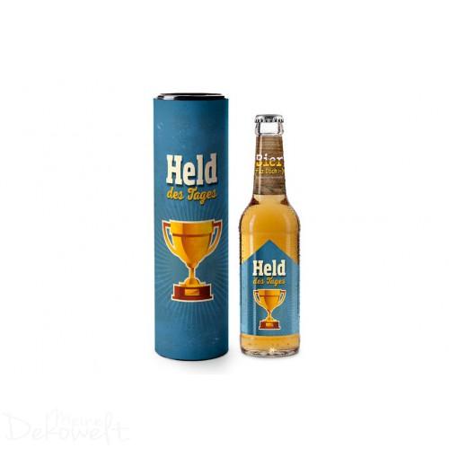 "Bier ""Held des Tages"" in Geschenkdose"