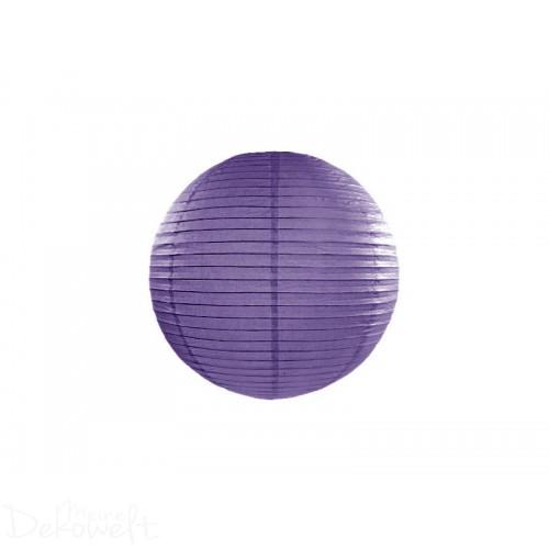 Papierlaterne Violett 20cm Lampion Reispapier
