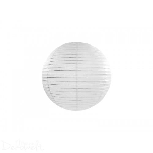 Papierlaterne Weiß 20cm Lampion Reispapier